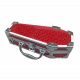 COFFIN CASES Model DL-79A Limited Red Alligator Accessories Case