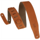 Levy's MS26-CPR Hand-Brushed Suede Guitar Strap