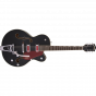 "Gretsch G5410T Electromatic® ""Rat Rod"" Hollow Body Single-Cut with Bigsby®, Rosewood Fingerboard, Matte Black"