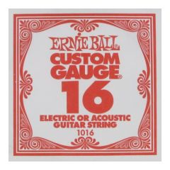 ERNIEBALL EB1016 .016 Plain Steel Single String