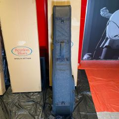 Reunion Blues RBC2B Continental Voyager Double Electric Bass Guitar Case (Handle Defect)