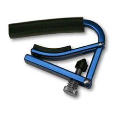 Shubb L1BLU Lite Blue Acoustic/Electric Guitar Capo, standard