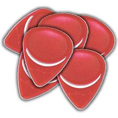 WEDGIE CLEAR XT PICK 12 PACK, 1.00mm, RED
