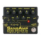 Tech 21 SansAmp Bass Driver DI v2 Pre-Amp & DI for Bass
