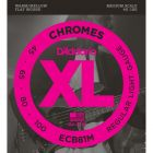 D'Addario ECB81M SET BASS CHROMES 45-100 MEDIUM Bass Strings
