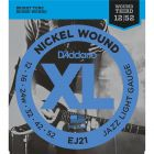 D'Addario EJ21 SET ELEC GTR XL JAZZ LITE Electric Guitar Strings