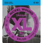 D'Addario EXL120 SET ELEC GTR XL SUP LITE Electric Guitar Strings