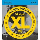 D'Addario EXL125 SET ELEC GTR XL SUP LITE/REG Electric Guitar Strings