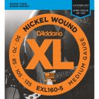 D'Addario EXL160-5 SET BASS XL 50-135 LONG 5-STR Electric Bass Strings