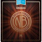 D'Addario NB1253 SET AC GTR NICKEL BRONZE LITE Acoustic Strings