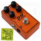 Xotic BB Preamp Guitar Pedal Boost Overdrive EQ w/ Free Ernie Ball Strings