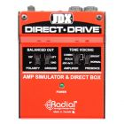 RADIAL JDX Direct-Drive Amp Simulator and DI box tilted