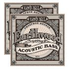 ERNIE BALL Earthwood Acoustic 4 String Bass Strings (2070)- 2 Pack