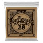 Ernie Ball 1428 Earthwood 80/20 Bronze .028