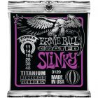 Ernie Ball EB3120 11-48 Coated Titanium RPS Power Slinky