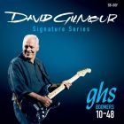 GHS David Gilmour Signature Series Guitar Strings GB-DGF Blue 10-48
