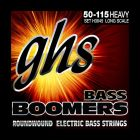 GHS H3045 Boomers Roundwound Electric Bass Strings 50-115, Heavy