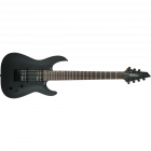 Jackson JS 22-7 Dinky, 24 frets, 7-string, AH FB, (less case) Satin Black