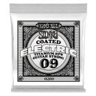 Ernie Ball .009 Titanium RPS Coated Electric Single Guitar String