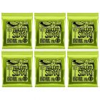 ERNIE BALL Regular Slinky Nickel Wound Electric Guitar Strings (2221) - 6 Pack