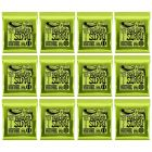 ERNIE BALL Regular Slinky Nickel Wound Electric Guitar Strings (2221) - 12 Pack