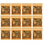 ERNIE BALL Nickel Hybrid Slinky Guitar Strings (2222) - 12 Pack