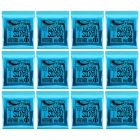 ERNIE BALL Extra Slinky Nickel Wound Electric Guitar Strings (2225) - 12 Pack