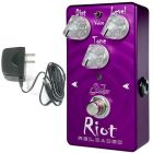 SUHR Riot Reloaded Distortion Guitar Effects Pedal with 9V Power Adapter
