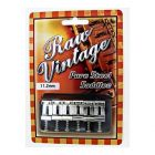 RAW VINTAGE RVS-112 Pure Steel Saddles (6-pc set)
