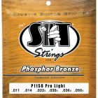 SIT Phosphor Bronze acoustic strings, Pro Light