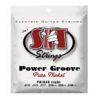 SIT Power Groove - Pure Nickel guitar strings, Light