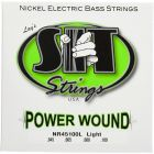 SIT Power Wound Bass String Set, Long Lt, Nickel plated