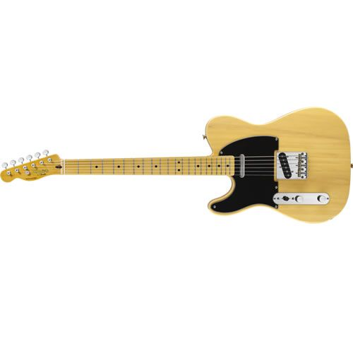 FENDER SQUIER Classic Vibe 50's Left Handed Telecaster Butterscotch Blonde