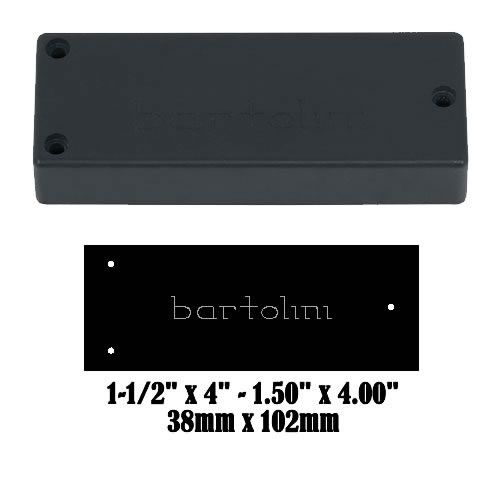 BARTOLINI 72M45C-B 5-String M4 Soapbar Humbucker Pickup Neck NEW
