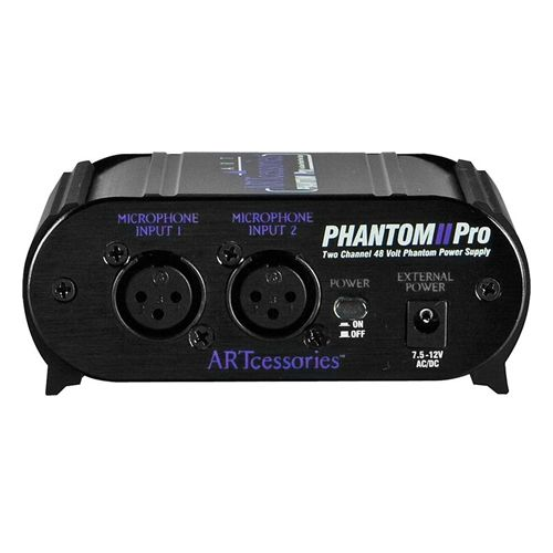 ART Phantom II Pro 2-Channel 48V Phantom Power Supply DEMO veiw 1
