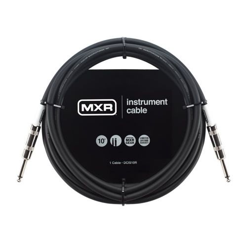 MXR Standard Instrument Cable Straight to Straight 10 Feet