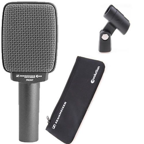 SENNHEISER e609 Silver Supercardioid Dynamic Guitar Amp Mic accessories