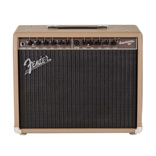 """FENDER Acoustasonic 90 Solid-State Acoustic Amp 8"""" 90W 2 Channel"""