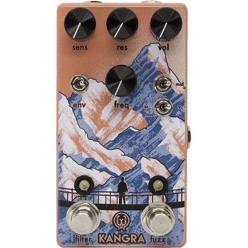 Walrus Audio Kangra Filter Fuzz Pedal 900-1048