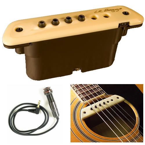 LR Baggs M1A Active Soundhole Magnetic Acoustic Guitar Pickup LRBaggs USED