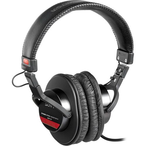 Sony MDR-V6 Closed Over The Ear Studio Headphones