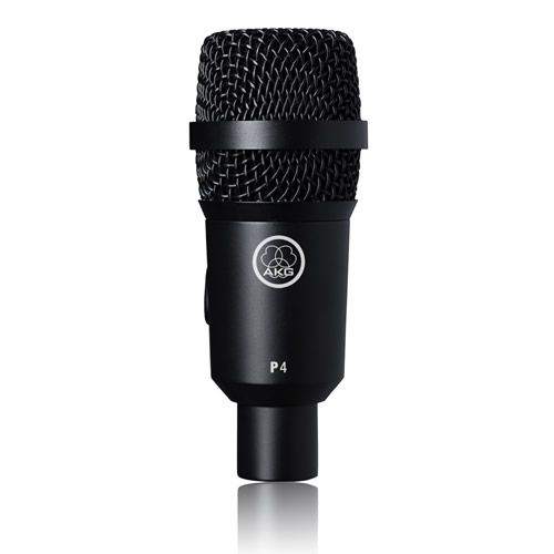 AKG P4 Performance Series Dynamic Instrument Microphone NEW