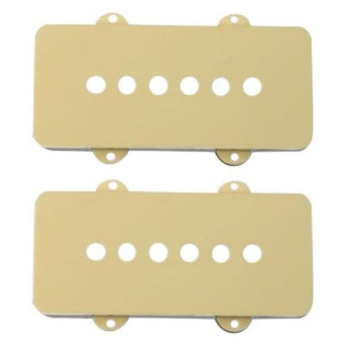 Fender PICKUP COVER, JAGUAR® PLASTIC AGED WHITE
