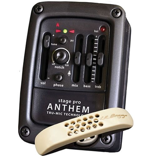 LR Baggs StagePro Anthem Acoustic Guitar Pickup System & Preamp USED