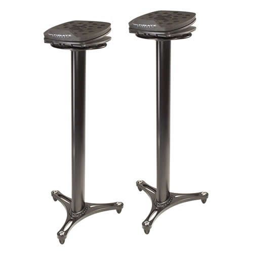 Ultimate Support #17450 MS-100 Studio Monitor Stand, PAIR, Black