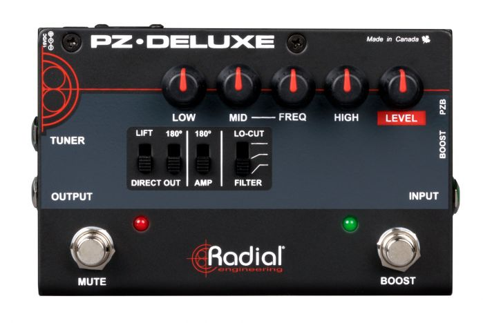 Radial PZ-Deluxe Acoustic Preamp Pedal