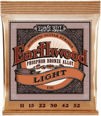Ernie Ball Super Slinky Acoustic Phosphor Bronze Guitar Strings