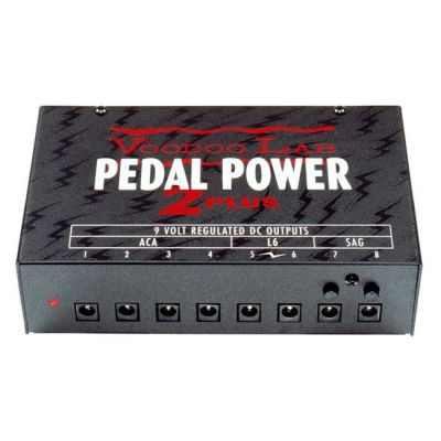 Voodoo Lab Pedal Power 2 Plus Universal 8-Output Power Supply DC GENTLY-USED