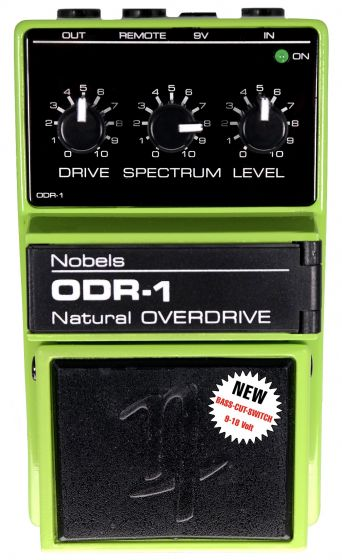 NOBELS ODR-1 Natural Classic Overdrive Guitar Effect Pedal Reissue