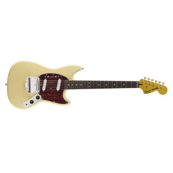 FENDER Squier Vintage Modified Mustang Electric Guitar Vintage White